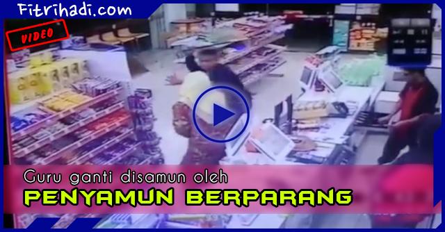 Video Guru Diserang Penyamun Berparang Di 7E Pagoh