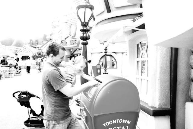 Baby in Disneyland Toontown