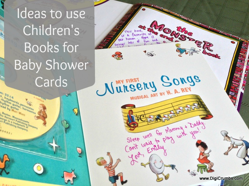 DigiCrumbs: Baby Shower Card Idea   A Childrenu0027s Book Makes A Useful Baby  Shower Card