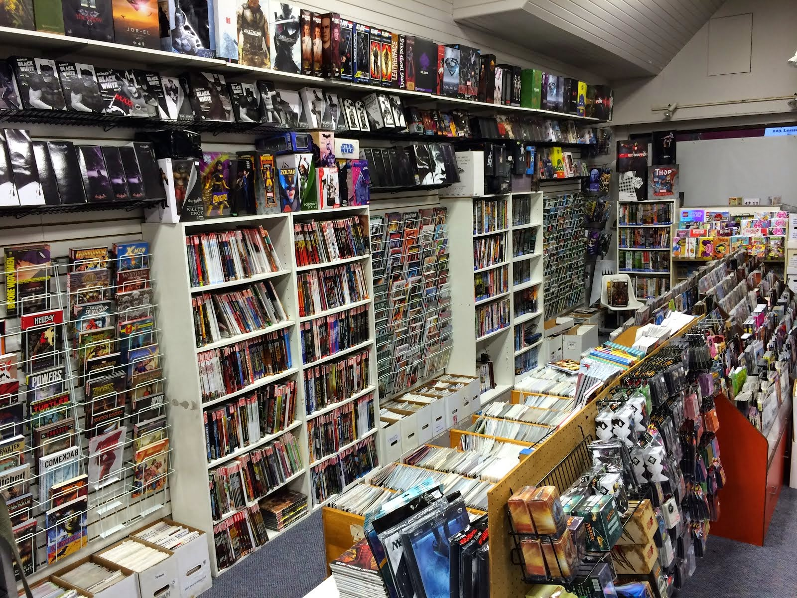 Graphic Novel Wall