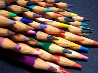 Imagenes para imprimir de lapices de colores