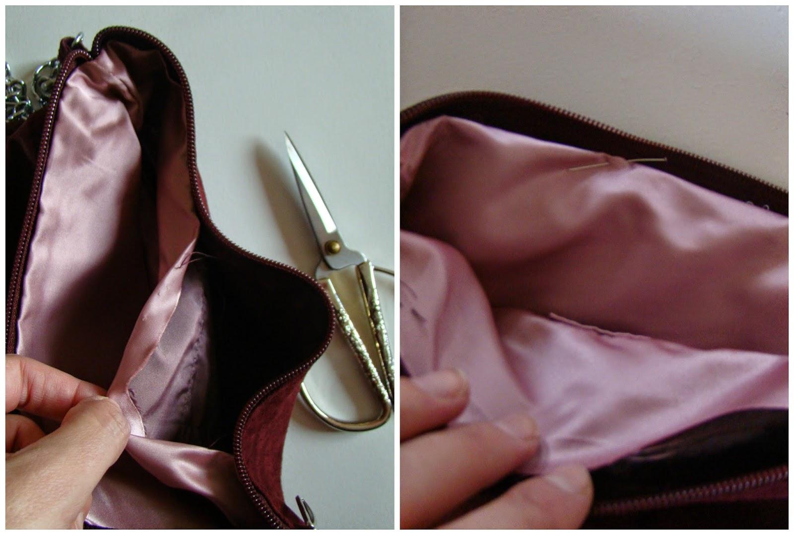 Descoser poner guata y volver a coser