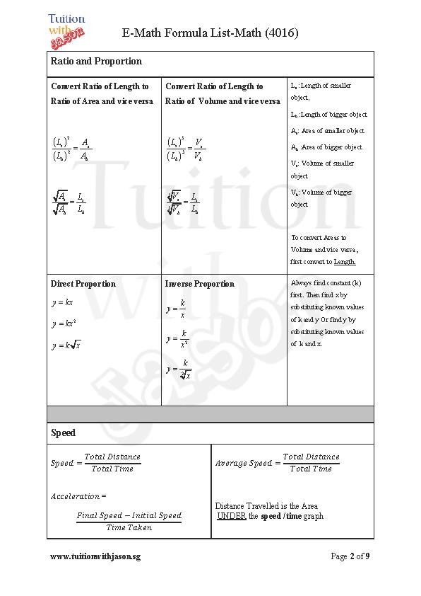 Math Formulas Download Maths Formulas pdf Basic Math ...