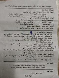 تجميع امتحانات اللغة العربية سادس ابتدائي ترم ثاني 2015 لجميع الادارات التعليمية في جميع محافظات مصر 1908213_1620515704851647_9040727067951629440_n