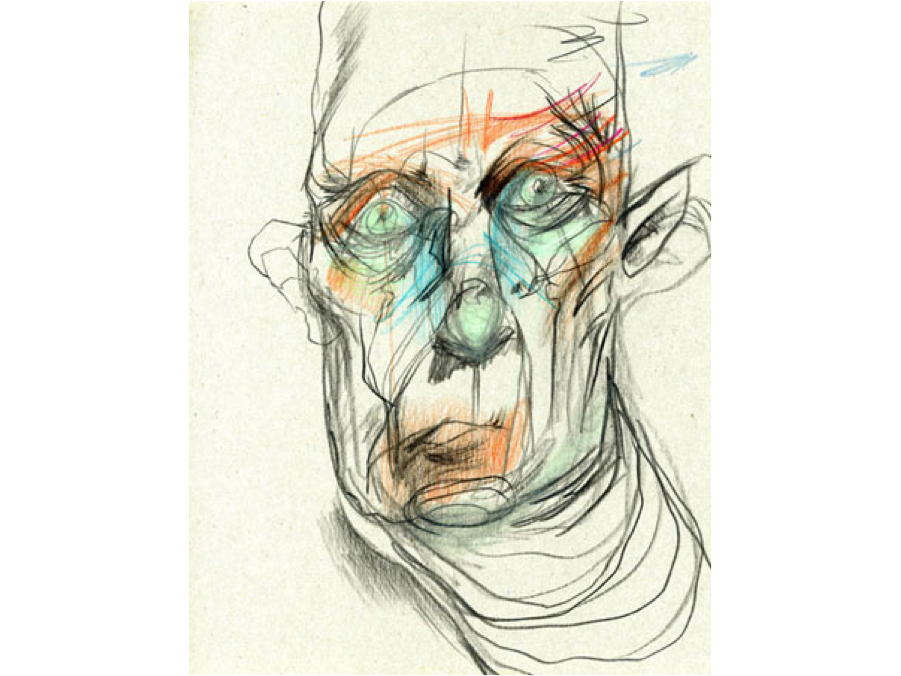 Blind Contour Line Drawing Definition : Drawing composition contour and blind lecture