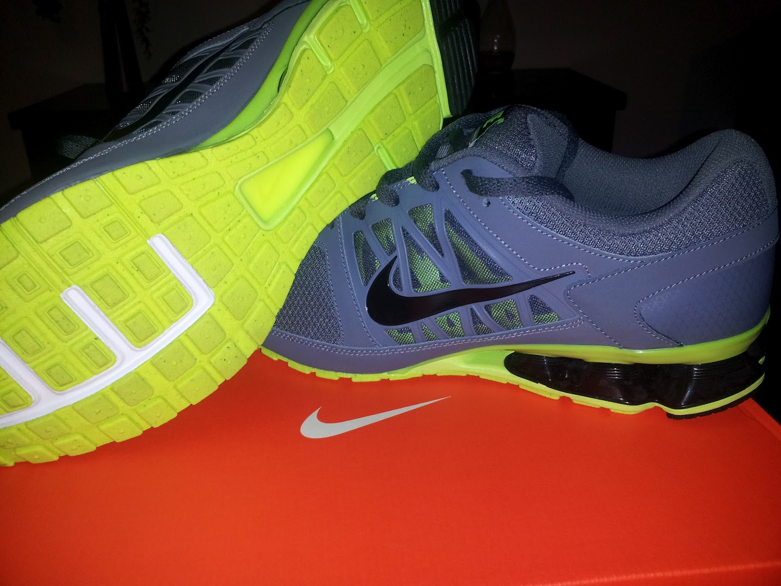 NIKE REAX RUN 6 review. In my previous post I told you about my new running  shoe purchase, Well here is the review.