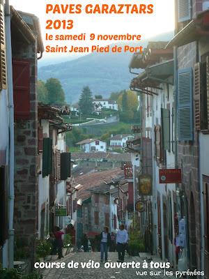 Les PAVES GARAZTARS 2013 à Saint Jean Pied de Port
