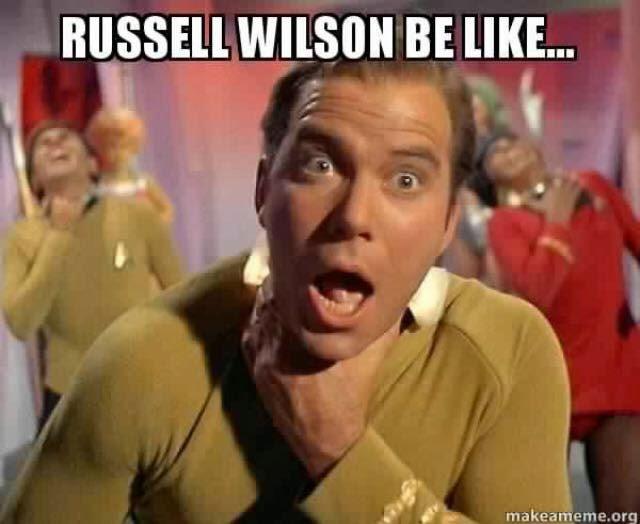 Russell Wilson be like... - #RussellWilson #Choke #seahawkshaters