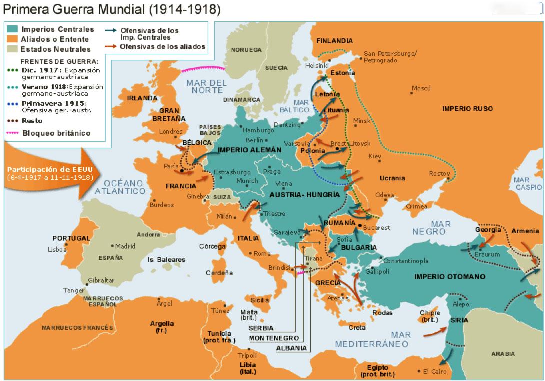 Aliados de la Primera Guerra Mundial - Wikipedia, la