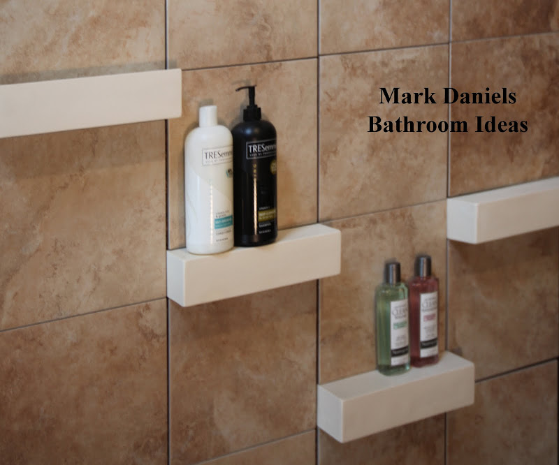 ceramic shower shampoo shelf shape, square box 3