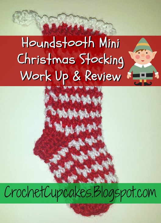 Houndstooth Christmas Stocking Crochet Pattern Work Up And Review