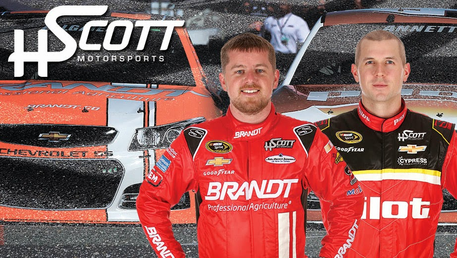 HScott Motorsports = Justin Allgaier and Michael Annett