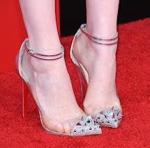 Celebrity Feet Close- Emma Stone