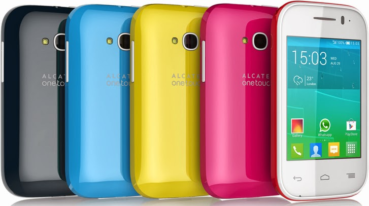 alcatel onetouch pop flip android