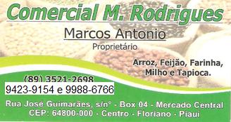 COMERCIAL M. RODRIGUES - Marcos Antonio - Proprietário