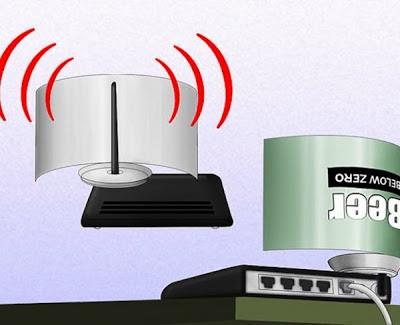 Tips Memperkuat Sinyal Wifi dengan Kaleng Bekas