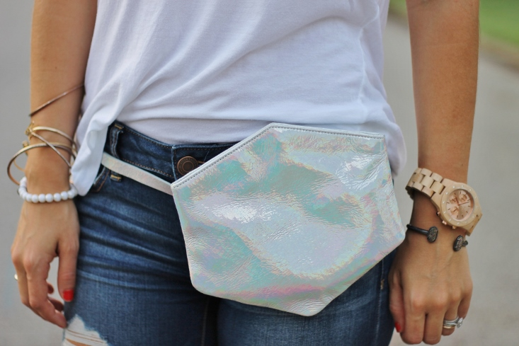 Ruti Horn #TheHex Belt Bag - Holograph trend handbag accessories