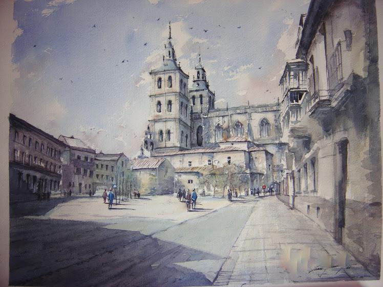 Plaza en Astorga.