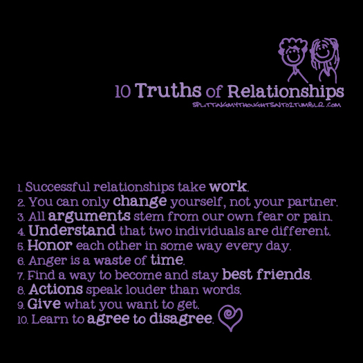 truths about relationships quotesQuotes About Relationships Problems