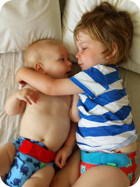 brothers, Frugi tots bots, cloth nappies, beautiful brothers