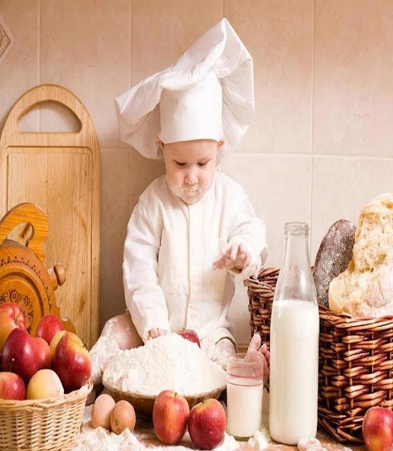 Le bébé chef cuisinier