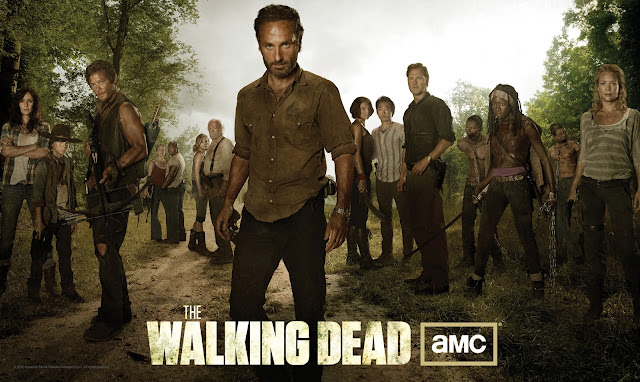 The Walking Dead Season 3 Cast Photo - Sarah Wayne Callies as Lori Grimes, Chandler Riggs as Carl Grimes, Norman Reedus as Daryl Dixon, Melissa McBride as Carol Peletier, IronE Singleton as T-Dog, Emily Kinney as Beth Greene, Scott Wilson as Hershel Greene, Andrew Lincoln as Rick Grimes, Lauren Cohan as Maggie Greene, Steven Yeun as Glenn Rhee, David Morrissey as The Governor, Danai Gurira as Michonne &amp; Laurie Holden as Andrea