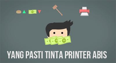 Tinta Printer Habis