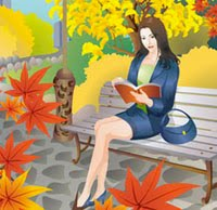 Visit Me on Booklover's Bench