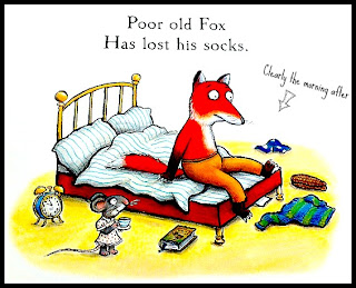 Fox's Socks Julia Donaldson Axel Scheffler