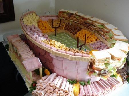 Un estadio de comida!!!