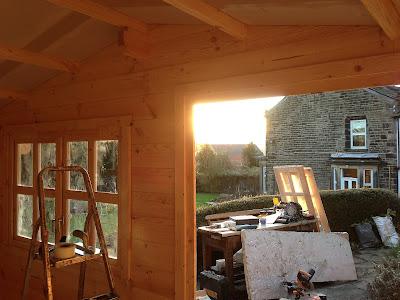 Bradford log cabins