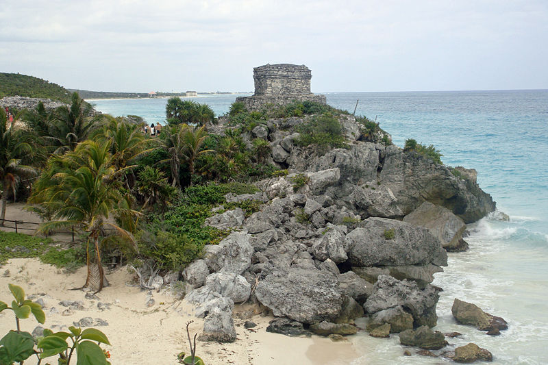 Tulum God of Winds Temple
