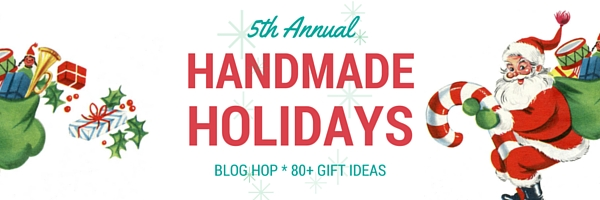 It's Handmade Holidays blog hop time!