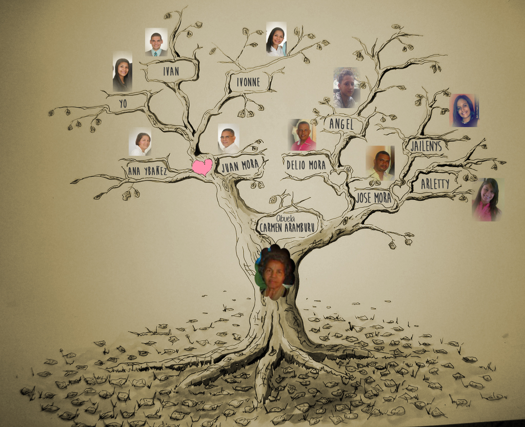 Ivanna Mora Arbol genealogico