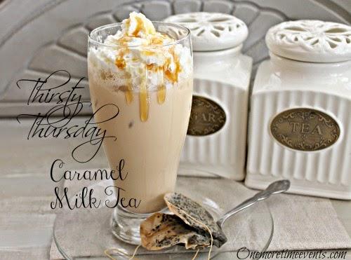 Caramel Milk Tea at One More Time Events.com