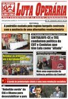 LEIA A EDIÇÃO DO JORNAL LUTA OPERÁRIA Nº 180, JUNHO/2009