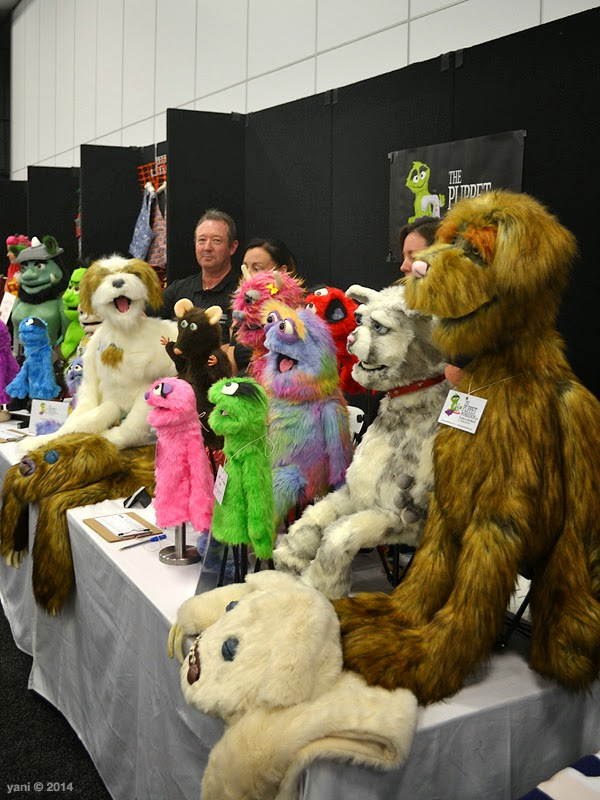 oz comic-con adelaide - all the furry folks