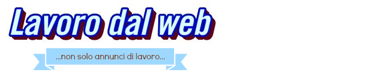 Lavoro dal web