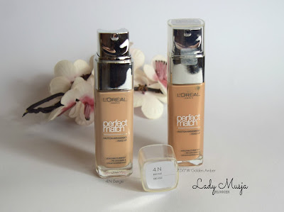 Loreal perfect match foundation
