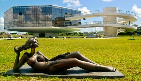 Estátua da Estação Cabo Branco - João Pessoa-PB - Foto: Fábio Fernandes