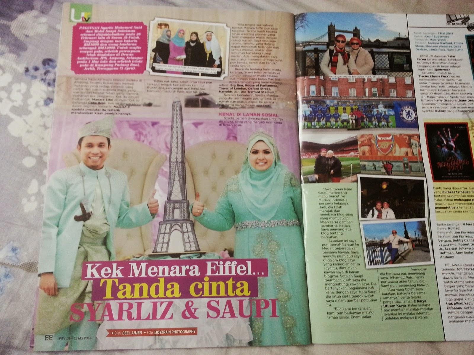 MyWedding - Majalah URTV (2014)