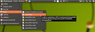 Libre Office-Ubuntu Linux 11.04