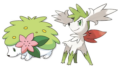 Pokemon how to get shaymin and how to change shaymin forms in pokemon platinum - Pokemon platine legendaire ...