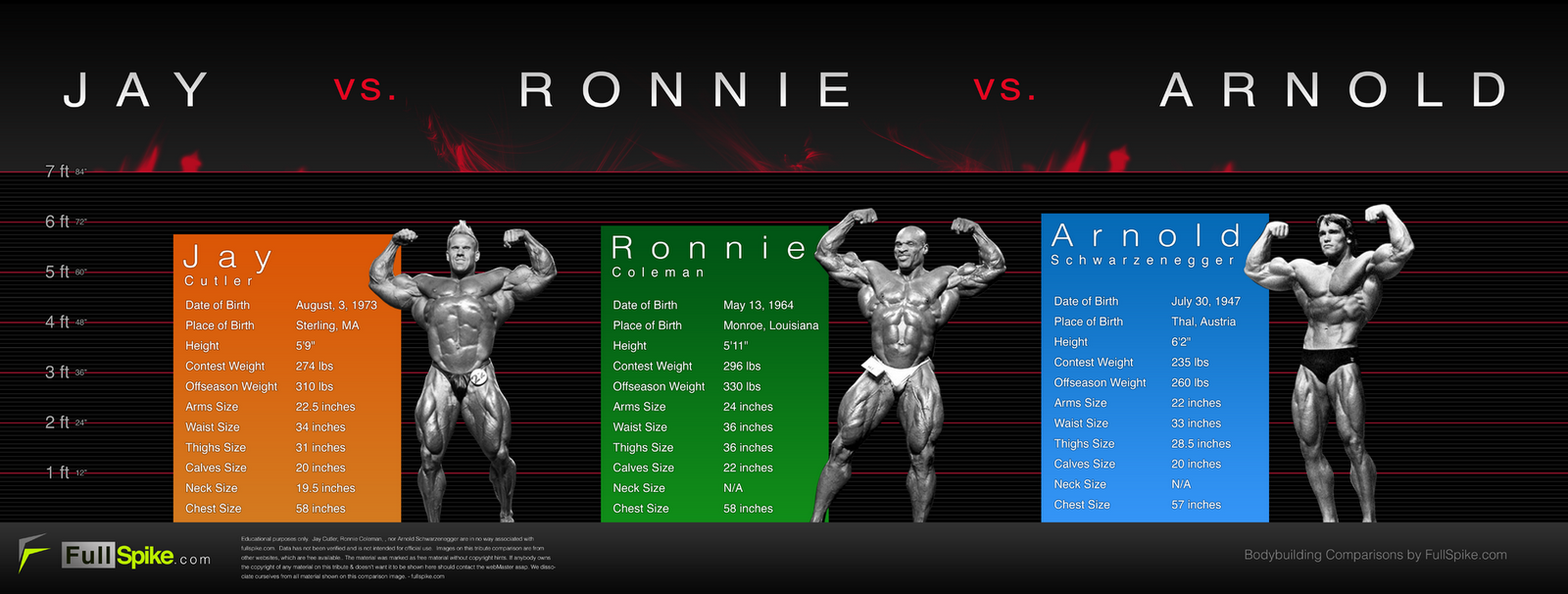 Ronnie Coleman Vs Arnold Bodybuilding And Gym: ...