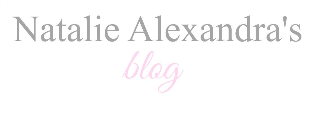 Natalie Alexandra's blog