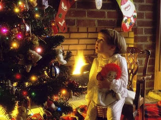 Christmas 2015 Wonderful Time with Kids HD Wallpapers Free