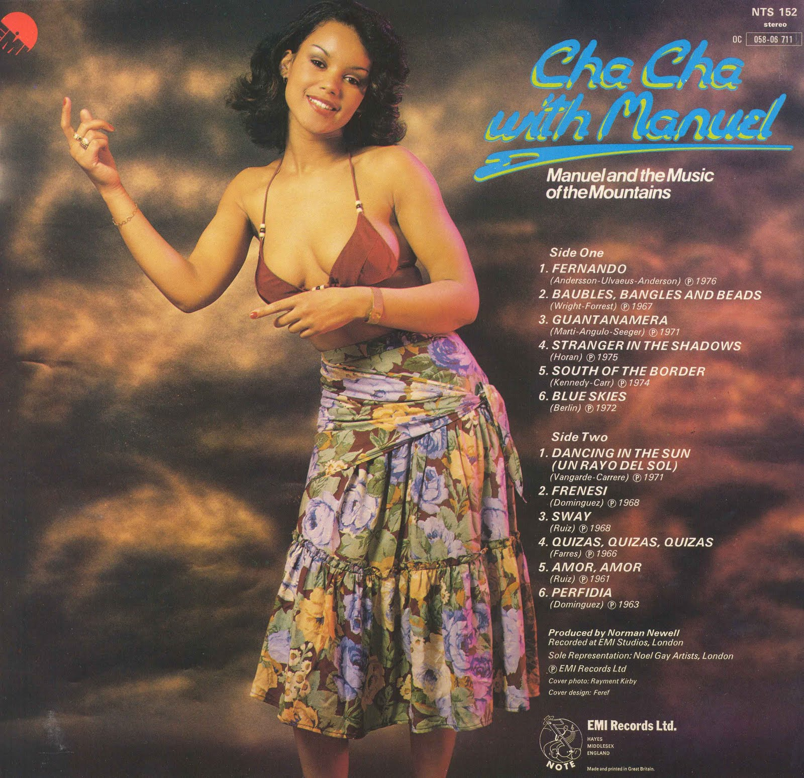 Manuel And His Music Of The Mountains - Cha Cha With Manuel (1976) .
