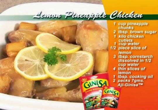 Lemon Pineapple Chicken Recipe