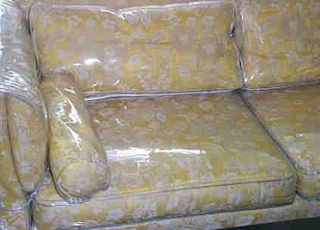 plastic covered couches my grandmother was a fan of plastic