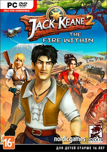 Cover Of Jack Keane 2 The Fire Within Full Latest Version PC Game Free Download Mediafire Links At Downloadingzoo.Com